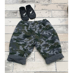 Camo Pants w/ Pockets