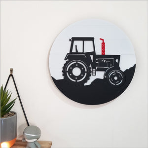 Tractor - ACM Circle Wall Art