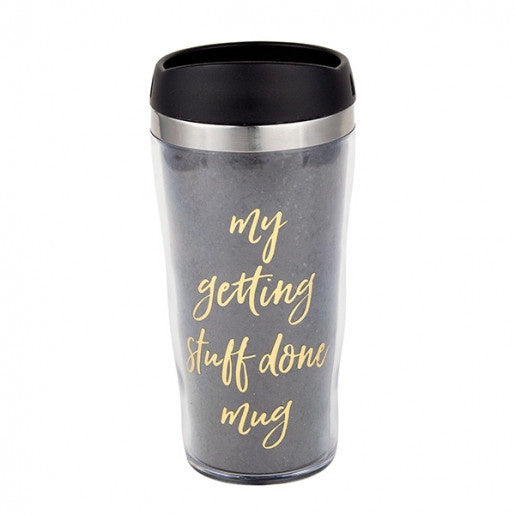 Getting Stuff Done Travel Mug