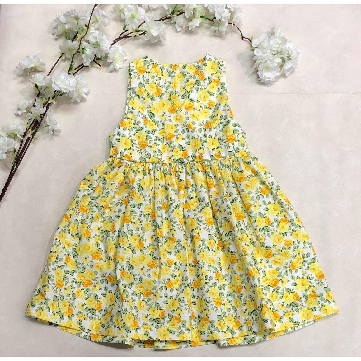 Lilly Dress - Yellow