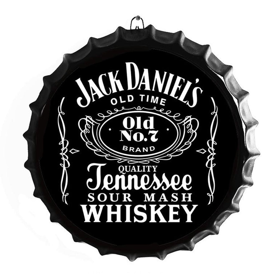 Jack Daniels Bottle Top Sign