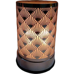 Black Fan Touch Lantern