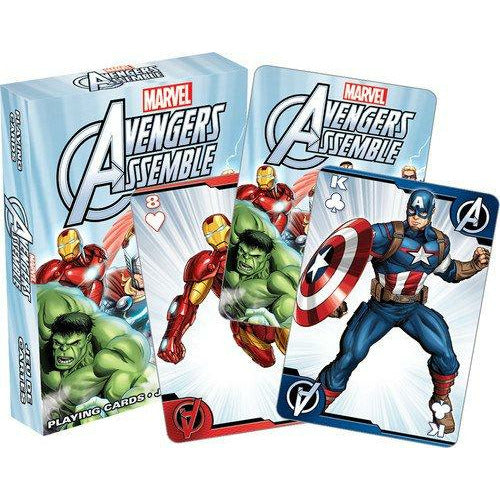 Avengers Assemble Youth Playing Cards