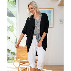 Memphis Summer Festival Shrug - Black