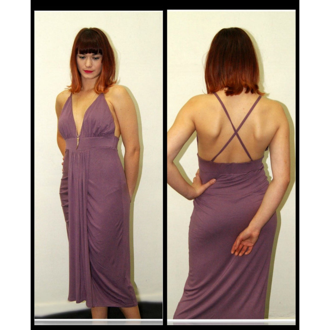 Walk This Way Midi - Mauve