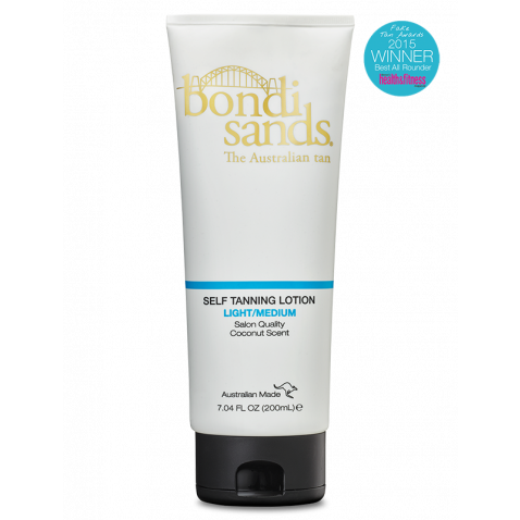 Bondi Sands Tanning Lotion-Light/Medium