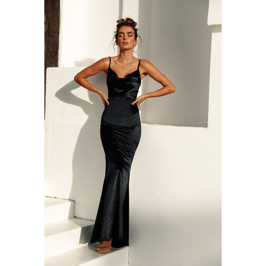 Star of the Night Formal Dress - Black