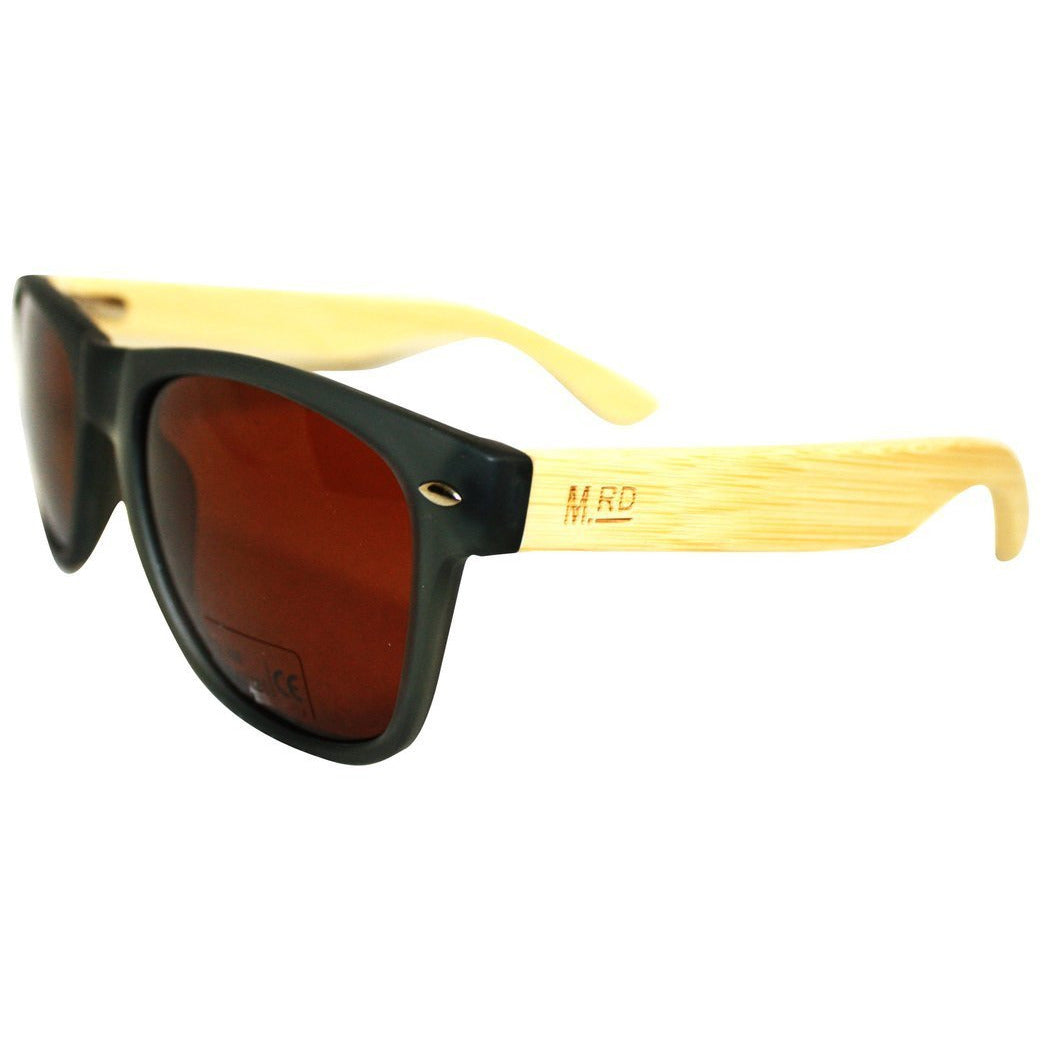 Wooden Sunnies - Grey w/ Plain Arms