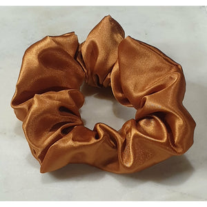 Scrunchie - Copper Satin