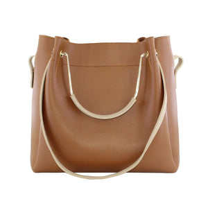The Remuera Handbag - Tan