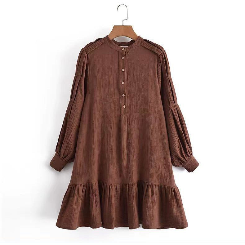 Lulu Dress - Chocolate