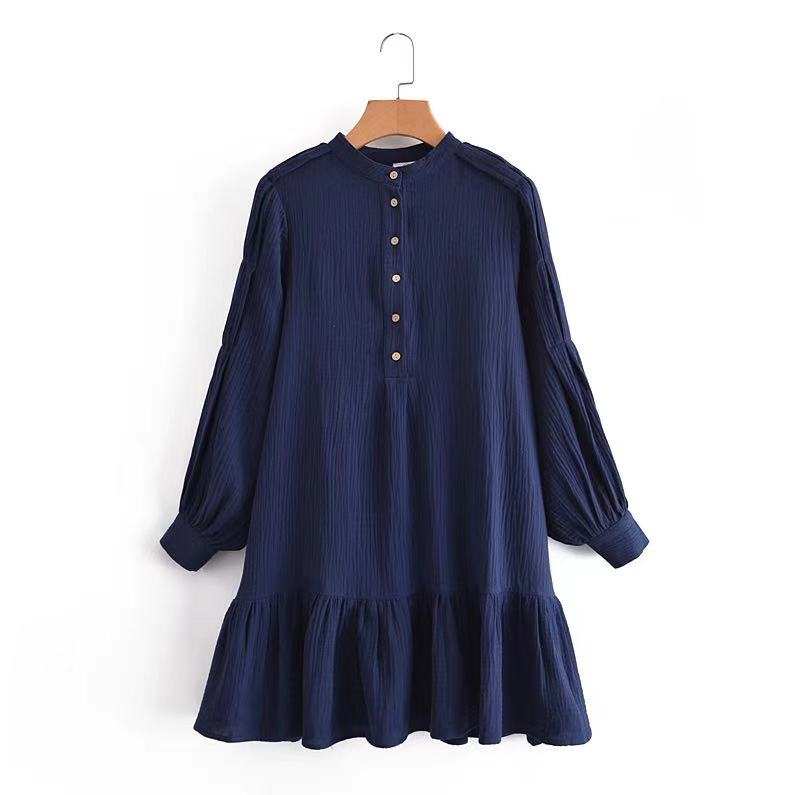 Lulu Dress - Navy