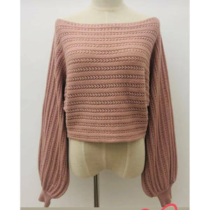 Lissa Knit / Blush Pink
