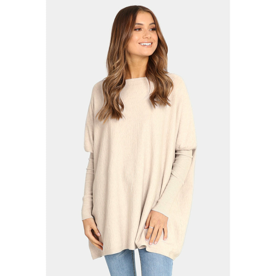 Taylor Knit - Beige by Madison The Label