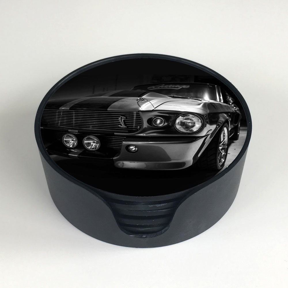 "Ford Mustang ""Eleanor"" Coasters"