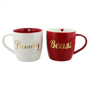 Beauty and the Beast Mug Set