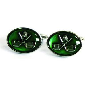 CUFFLINK GREEN GOLF CLUBS