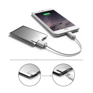 Xoopar Power Card Slim - Grey
