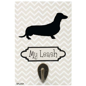Precious Pets Lead Holder -DACHSHUND