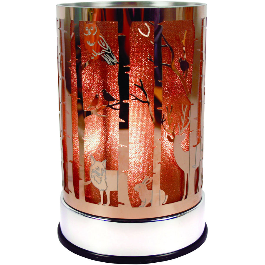 Woodlands Titanium Gold Touch Lantern