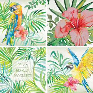 CANVAS SET-TROPICAL
