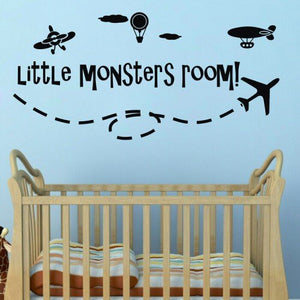 Little Monsters Room Wall Decal