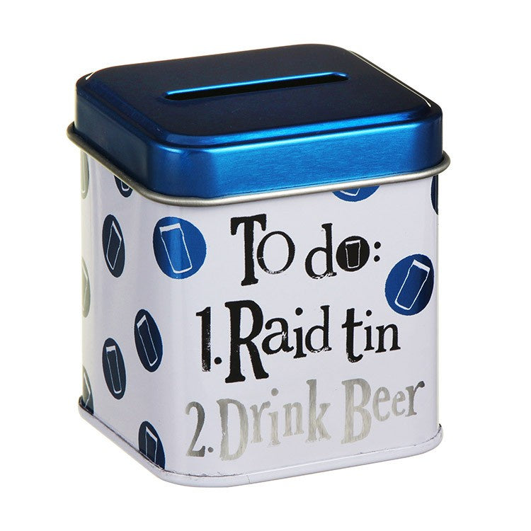 BRIGHTSIDE Raid Drink Beer Stash Tin