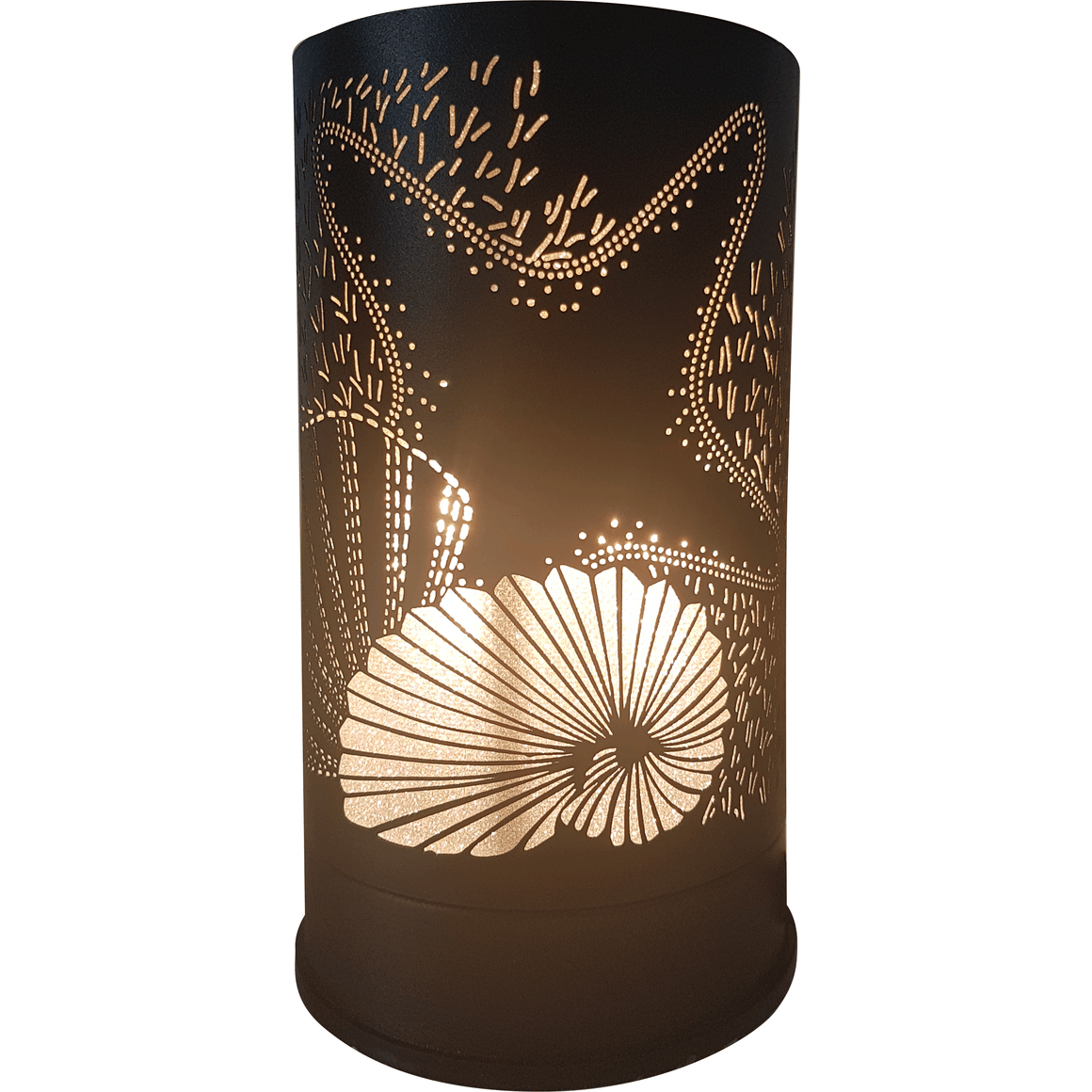 Beachcomber Black Touch Lamp