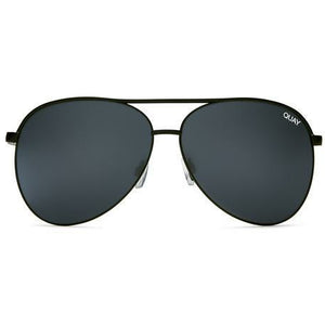 QUAY SUNGLASSES - VIVIENNE MINI Black/Smk