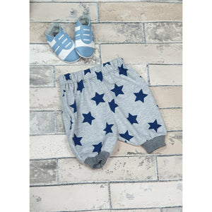 Archer Pants - Grey w/ Blue Stars