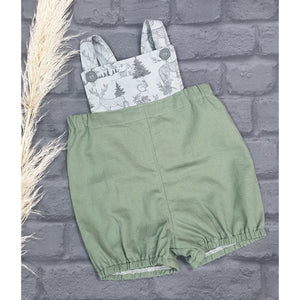 Into the Wilderness Overalls - Green
