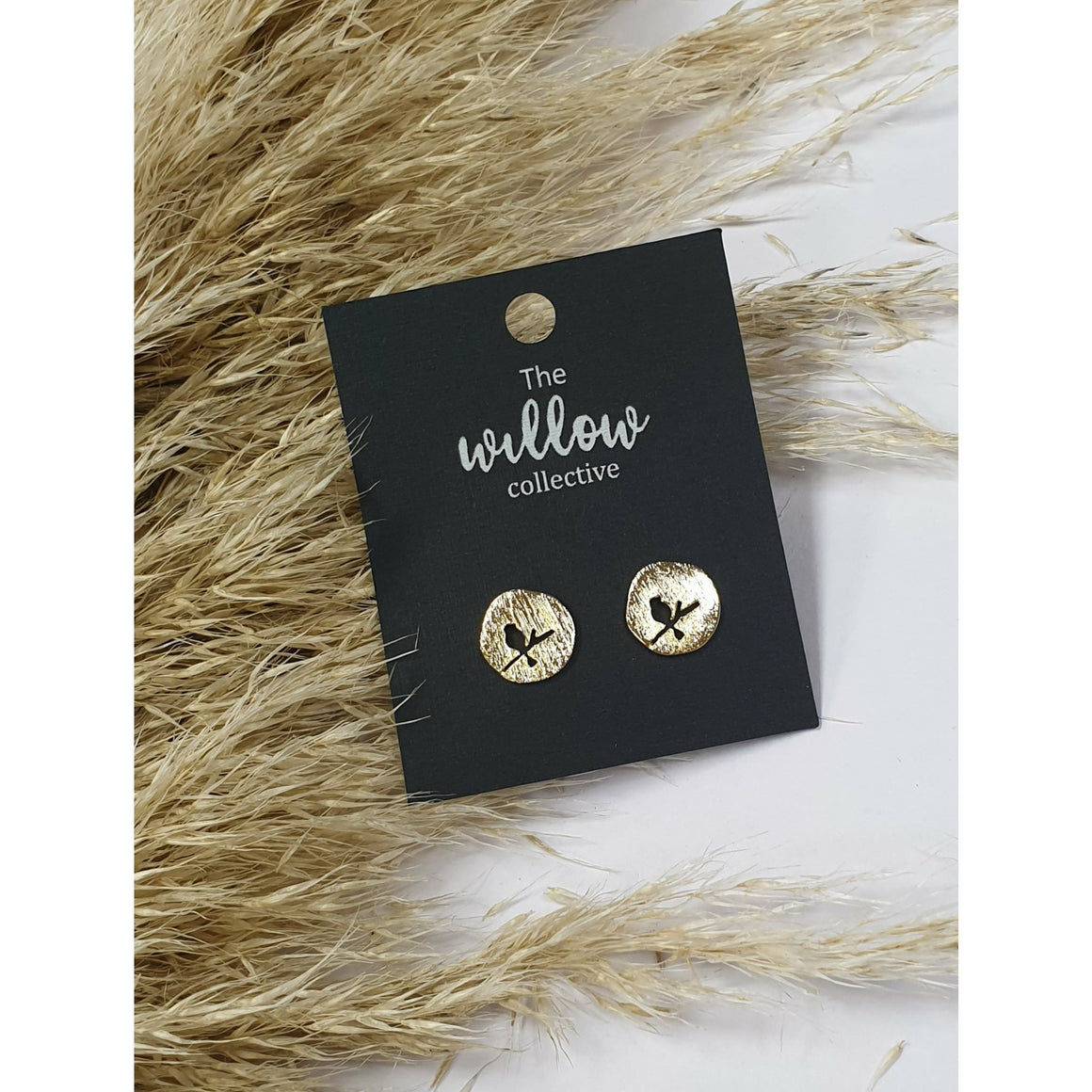 The Willow Collective - Bird on a wire Stud Earrings