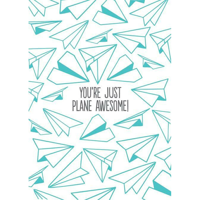 Card - You're just plane awesome