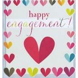 CARD - DIXIE ENGAGEMENT HEARTS