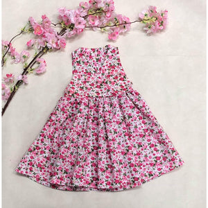 Lilly Dress - Small Pink Flowers