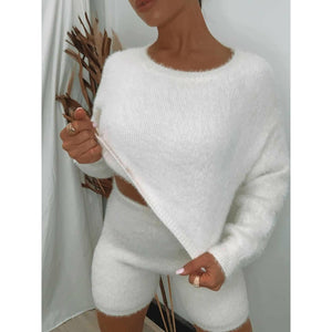 In the Bag Knit SET - White Size L (12/14)