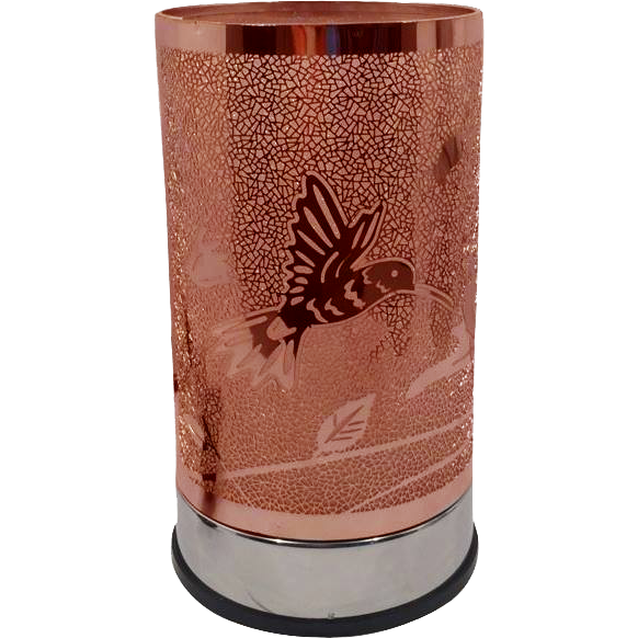 Rose Gold Hummingbird - Touch Lamp