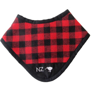 NZ Swanndri Dribble Bib Red - NZ