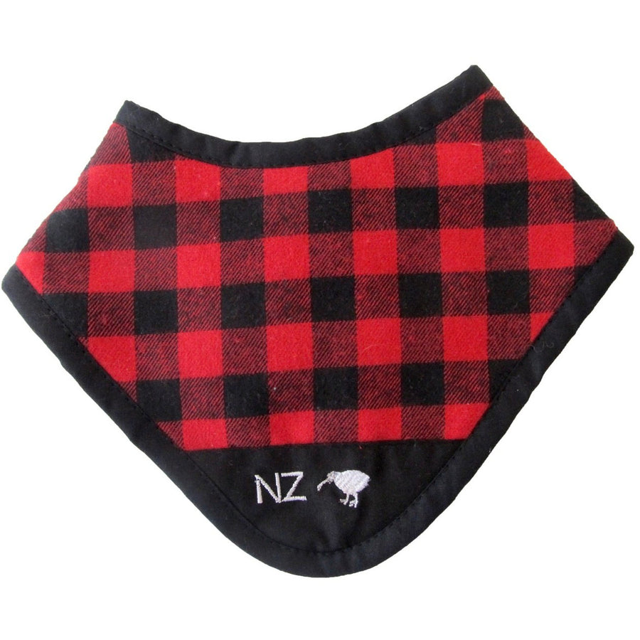 NZ Swanndri Dribble Bib - Red