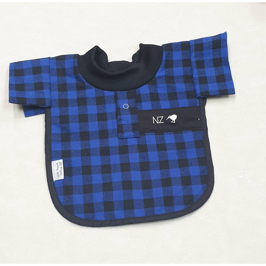 Blue Bush Shirt Bib