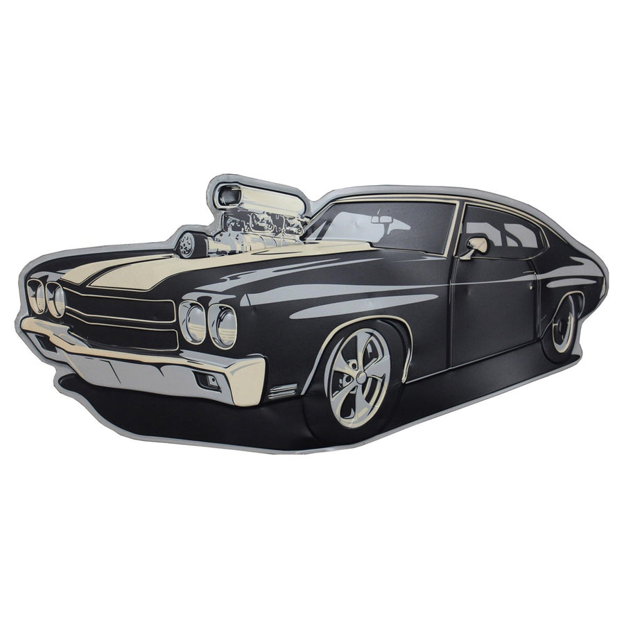 Black Hot Rod Chevelle