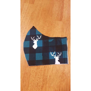 Face Masks - Lycra/Woven Cotton - Stag