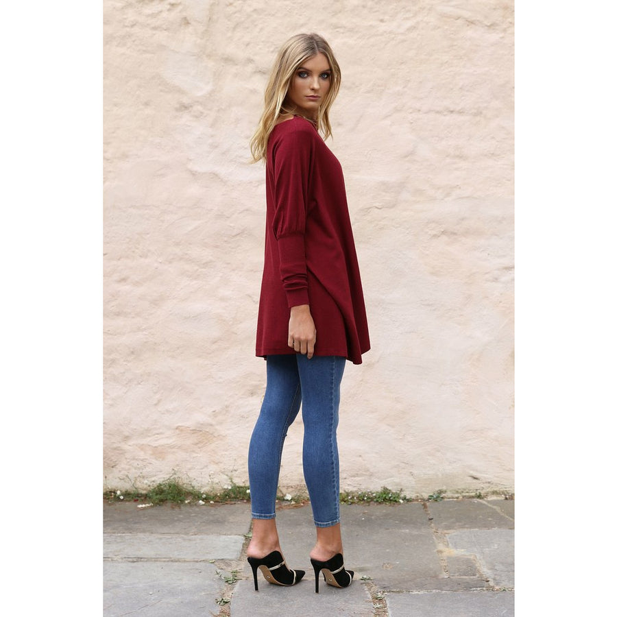 PRE ORDER TAYLOR KNIT - Wine