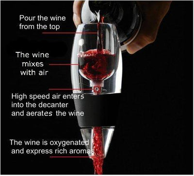 Wine Aerator Pourer and Decanter