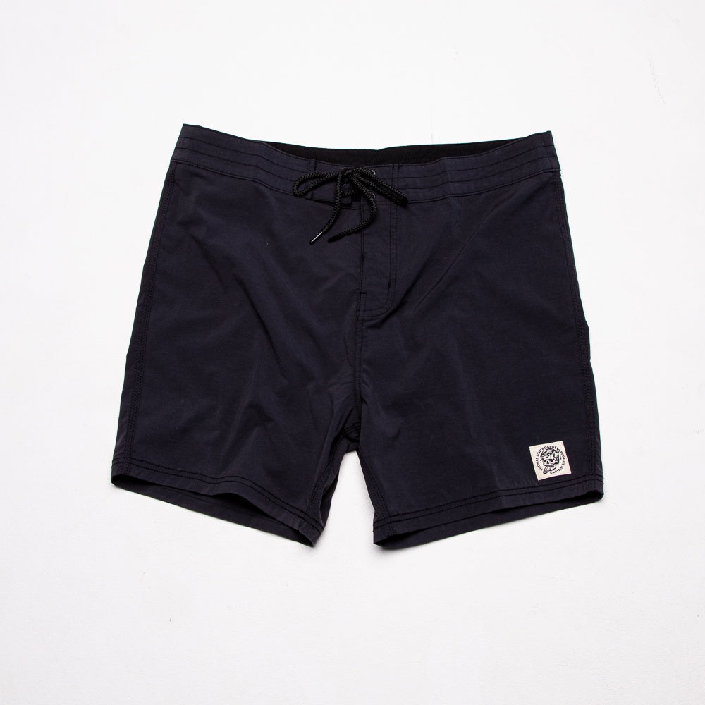 Thomas Surfboards & Captain Sip Sops Stay Bold Colab Board Shorts Black