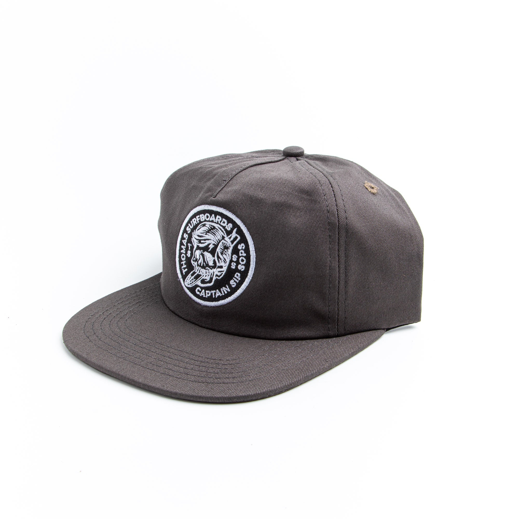 Thomas Surfboards & Captain Sip Sops Colab Stay Bold Hat Grey