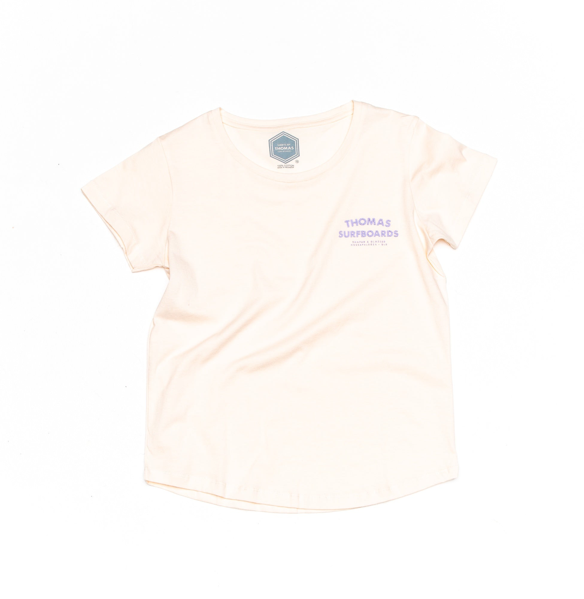Thomas Noosapalooza Ladies T-Shirt Cream