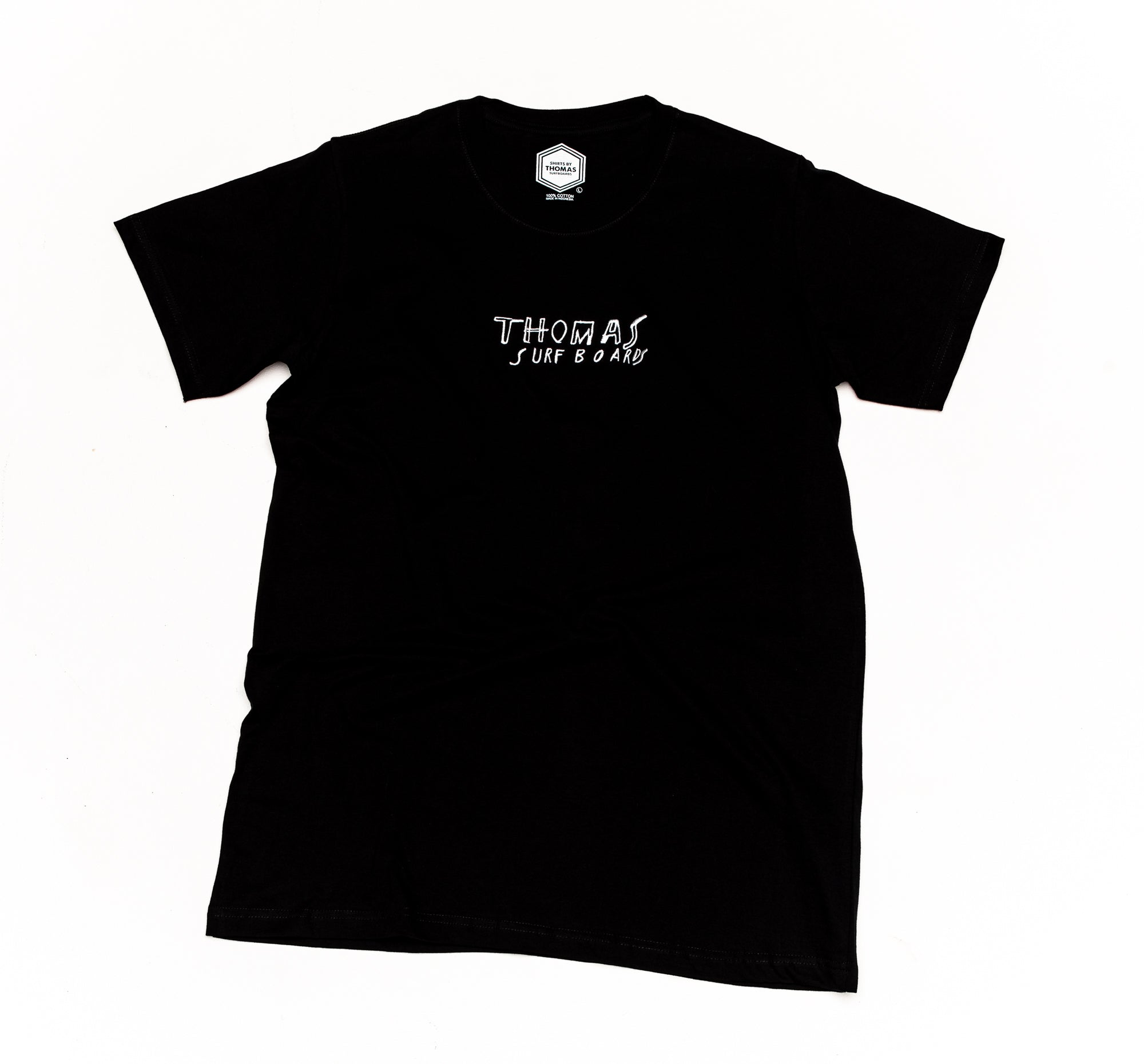 Thomas x Bob Moore Embroidered T-Shirt Black