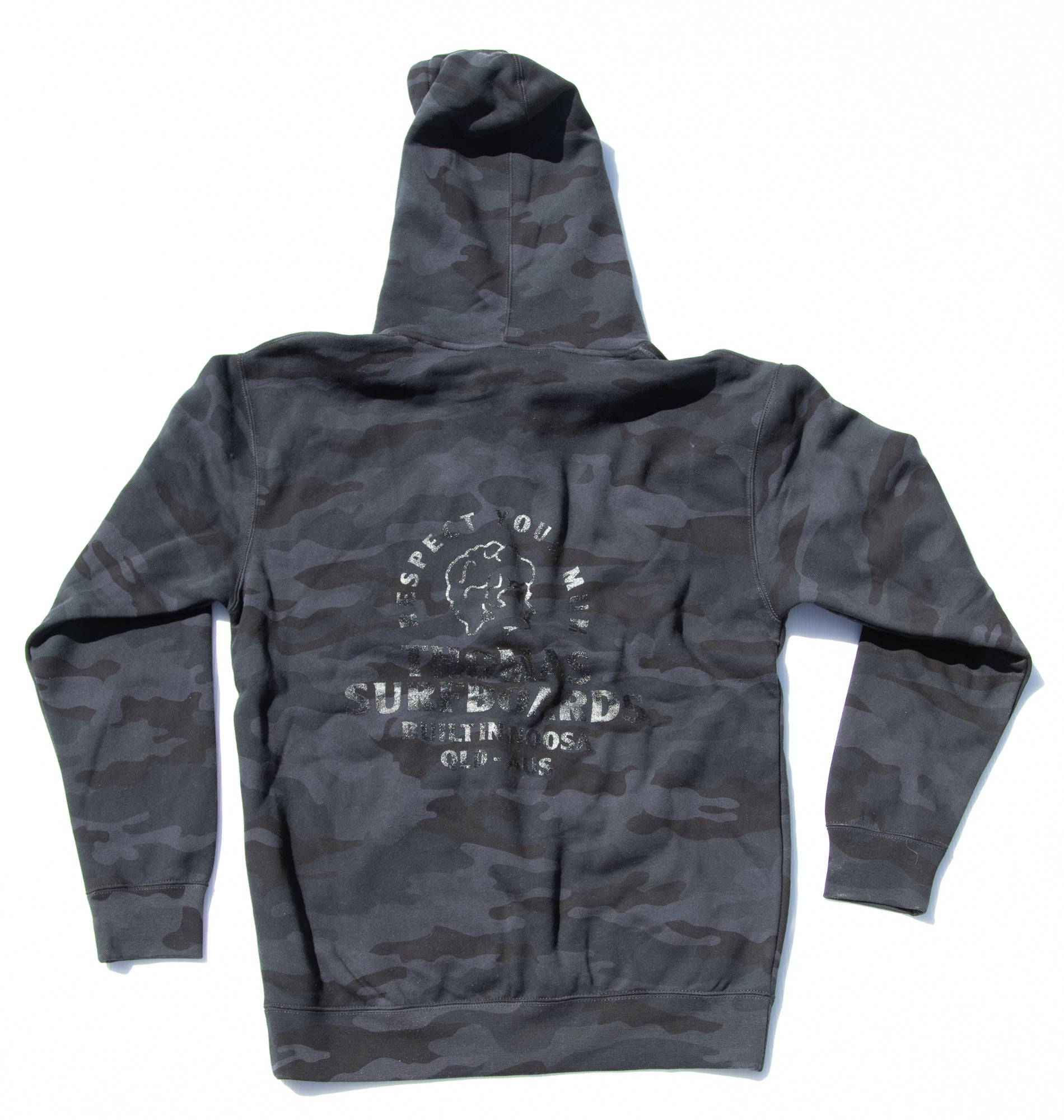 Thomas Girl Head Jumper Black Camo