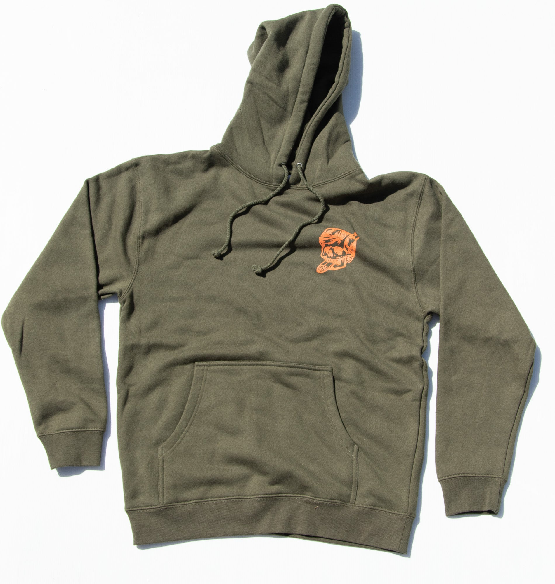 Thomas Surfboards & Captain Sip Sops Colab Stay Bold Jumper Army Green
